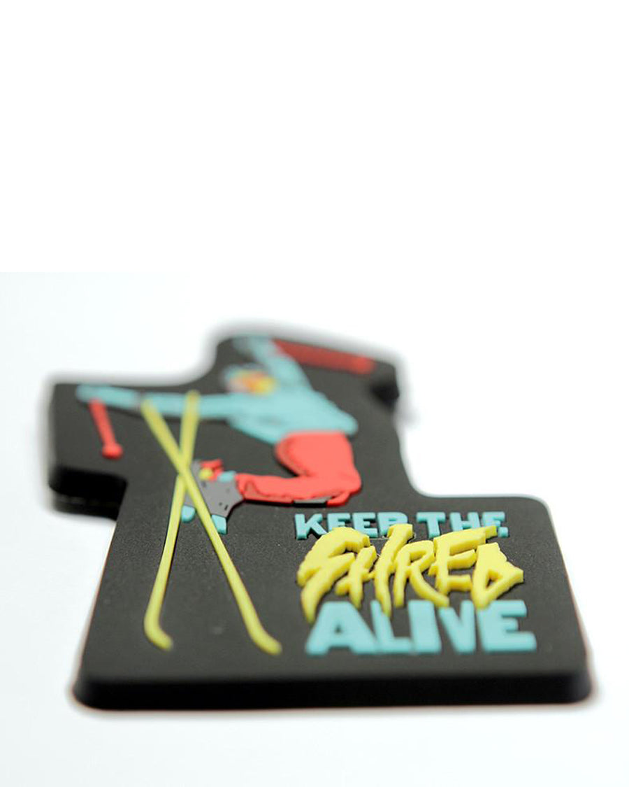Keep The Shred Alive 3-D Fridge Magnet