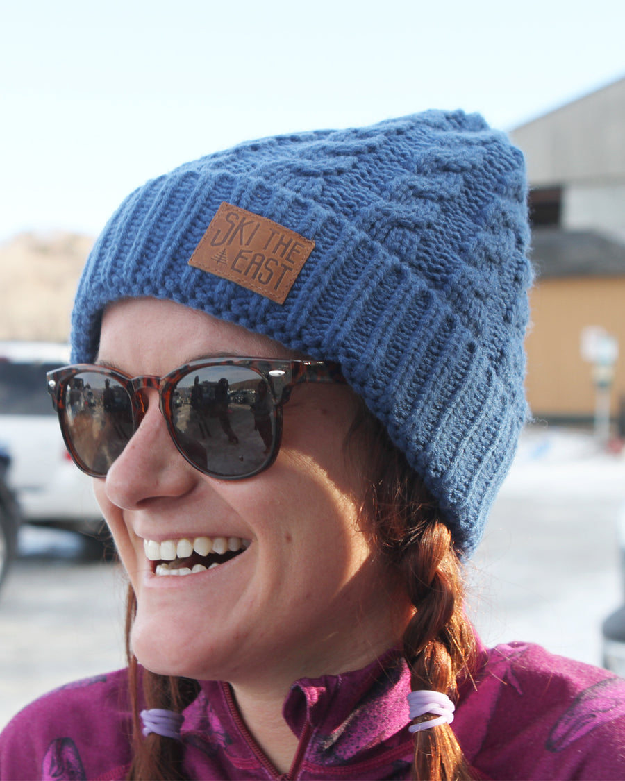 Women's Balsam Fleece Lined Beanie - Ocean Blue
