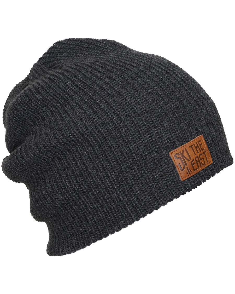 Camper Fleece Lined Beanie - Black Heather