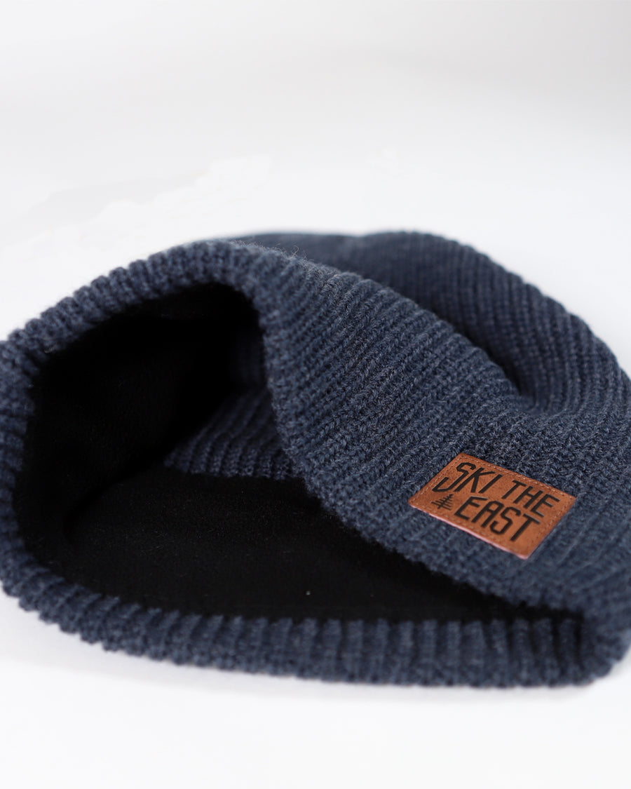 Camper Fleece Lined Beanie - Navy Heather
