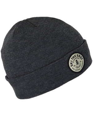 Spindrift Beanie - Charcoal Heather