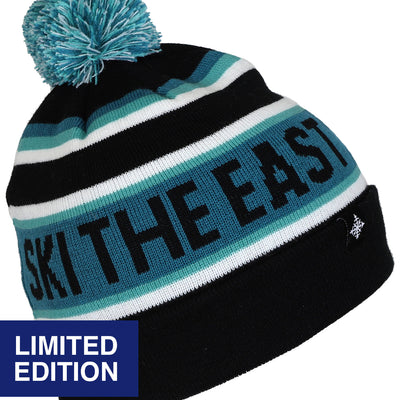 Ltd. Edition Tailgater Pom Beanie - Midnight Powder