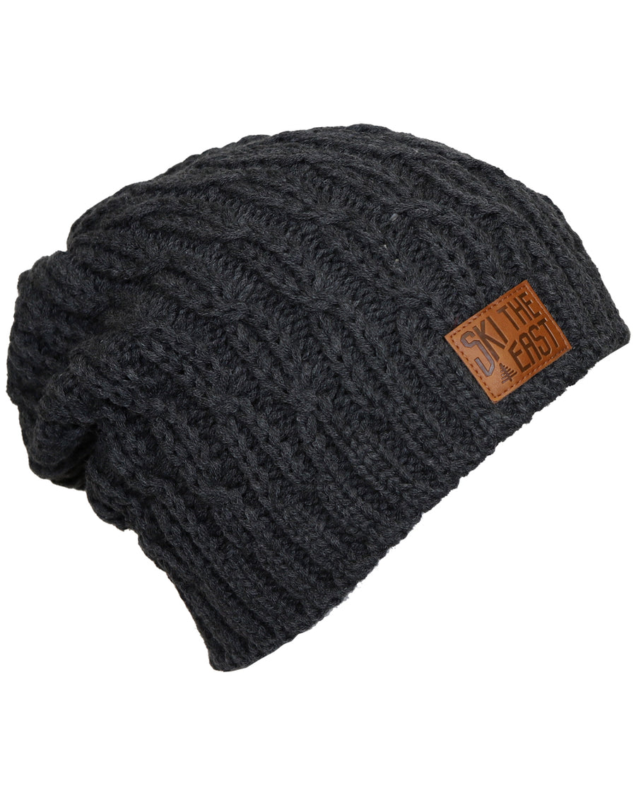 Women's Notchbrook Fleece Lined Beanie - Charcoal