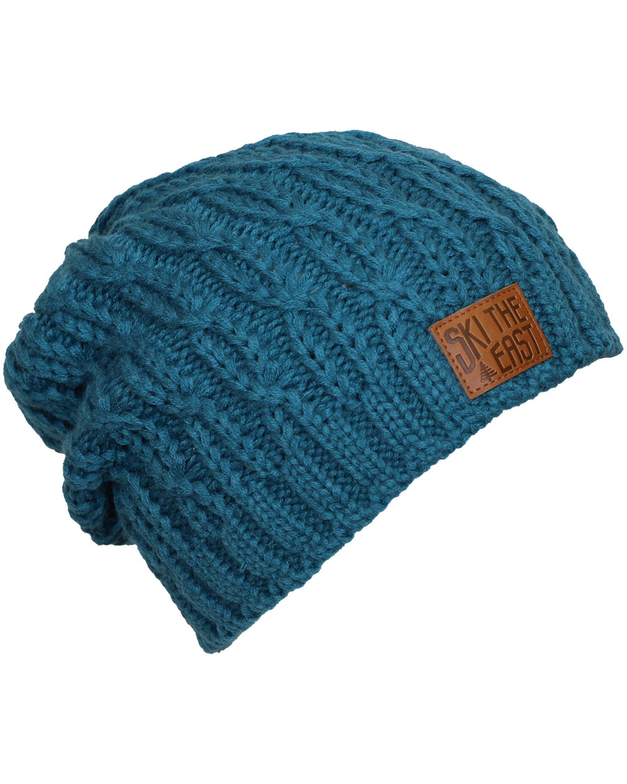 Women's Notchbrook Fleece Lined Beanie - Charged Teal