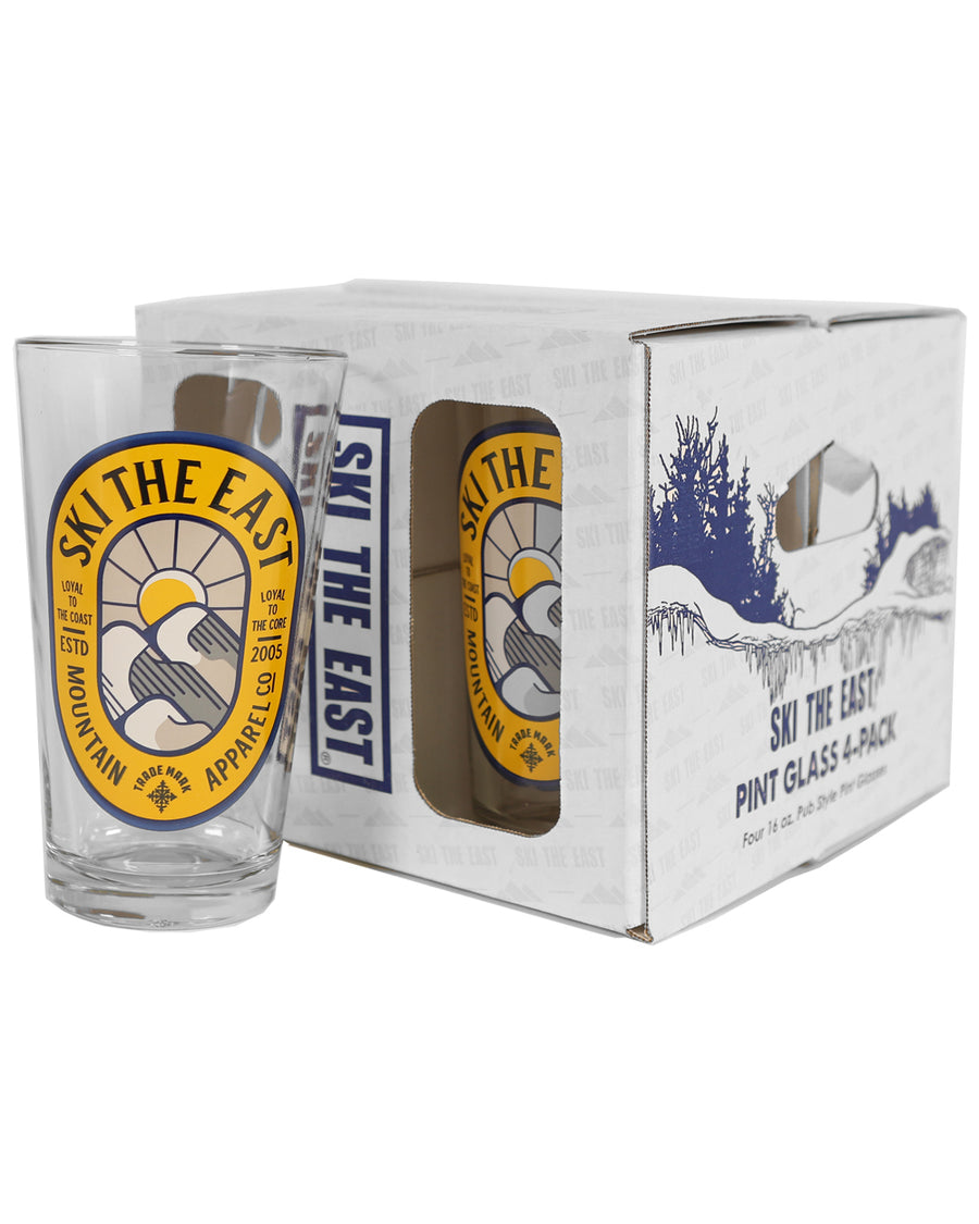 Dawn Patrol Pint Glass 4-Pack