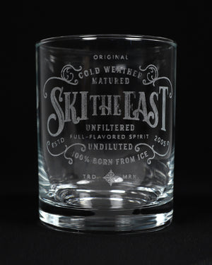 Stormin' Whiskey Glass