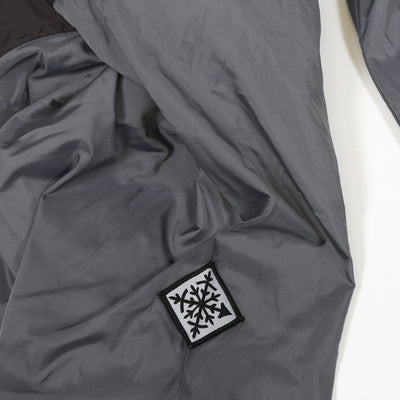 Gale Force Half Zip Windbreaker - Gray Daze