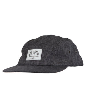 Fall Line 5 Panel Hat - Charcoal