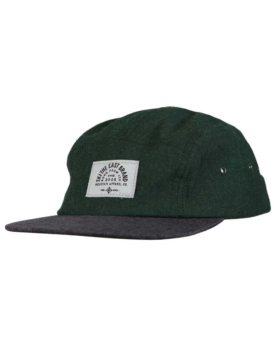 d4fe707bc6b Fall Line 5 Panel Hat - Pine