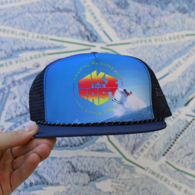 Murphy Foam Trucker Hat - Gnarly Navy