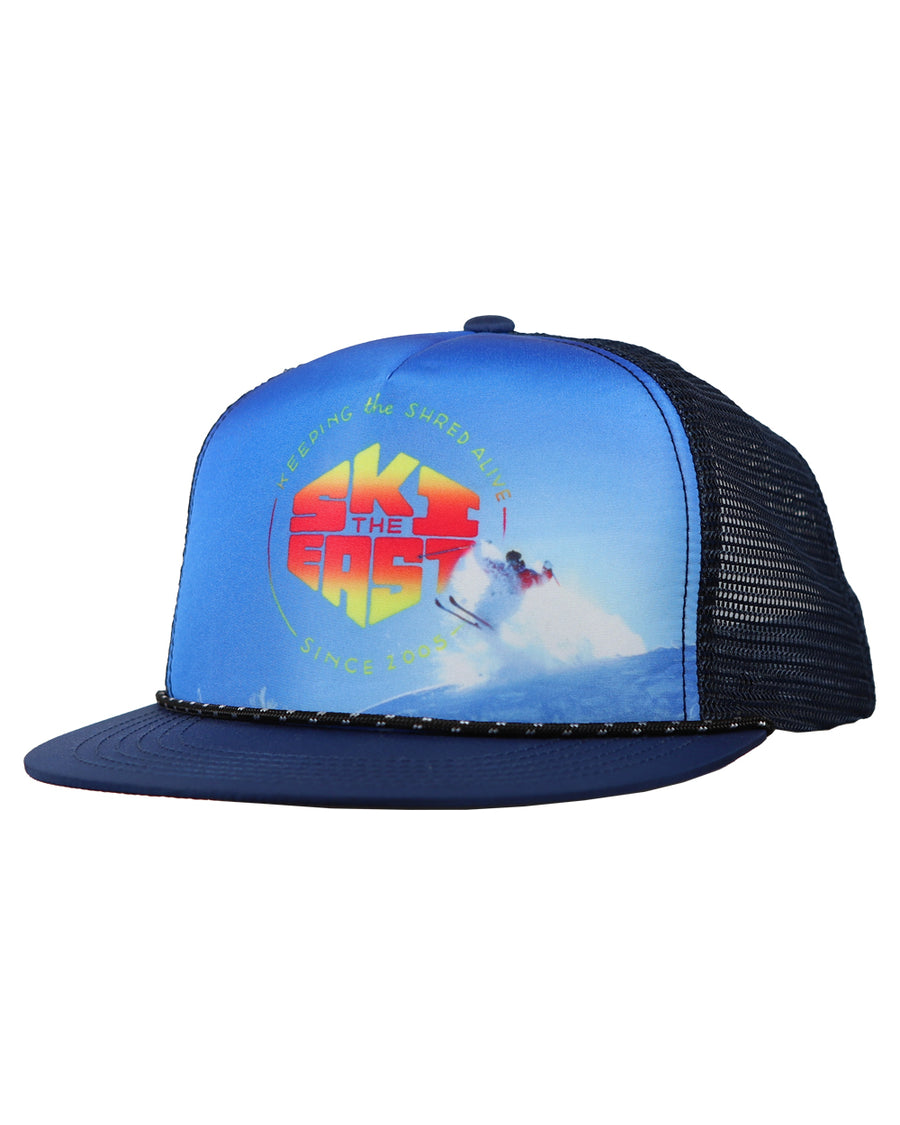 deae279344139 Murphy Foam Trucker Hat - Gnarly Navy