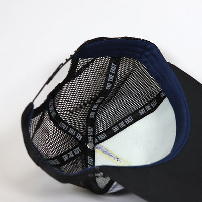 Stash Foam Trucker Hat - Black