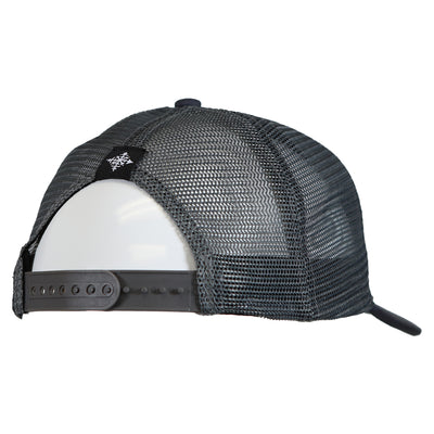 Upslope Canvas Trucker Hat - Charcoal