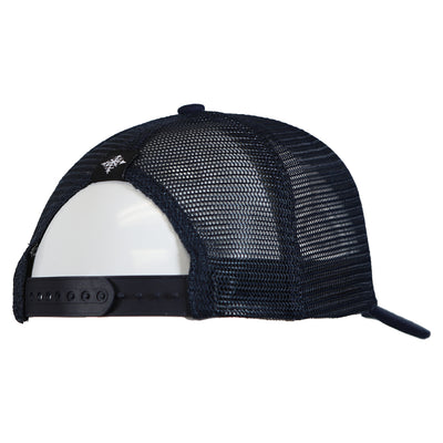 Upslope Canvas Trucker Hat - Navy