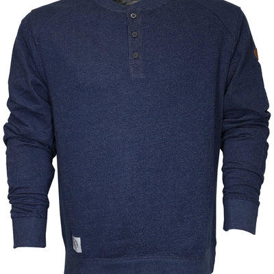 Northwoods Thermal Henley - Navy