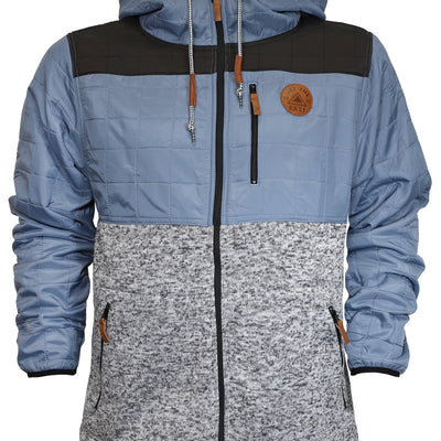 Ranger Fleece Jacket - Blue Fog/Black