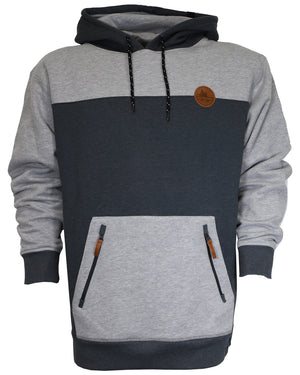 Crawford Pullover Hoodie - Charcoal/Gray