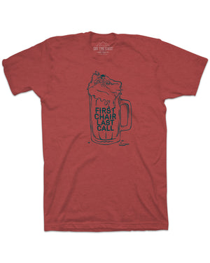 First Chair Last Call Tee - Cardinal