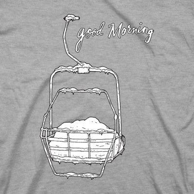 Women's Good Morning Tee - Gray