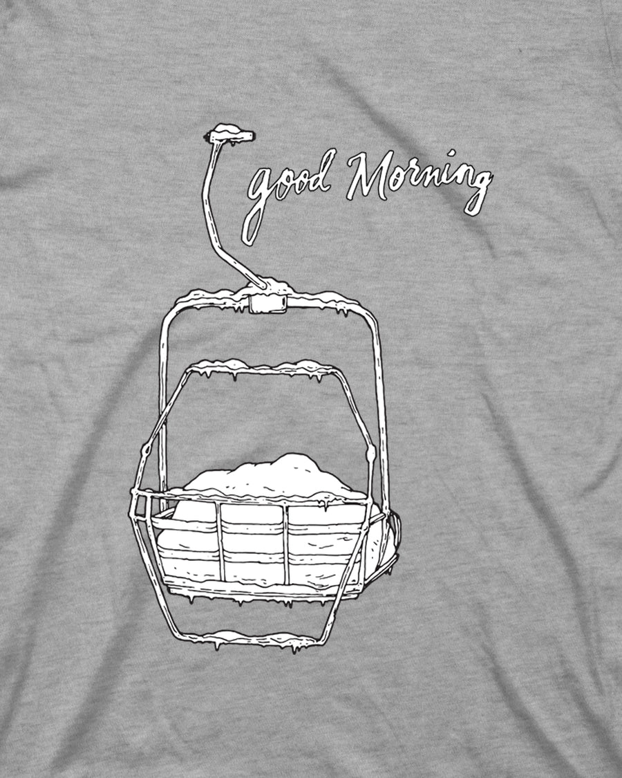 Good Morning Tee - Gray