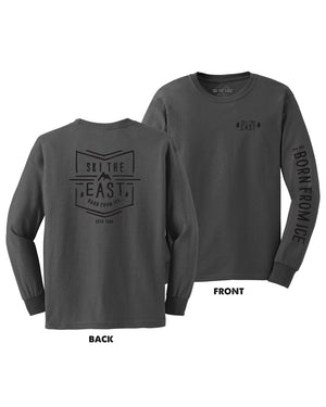 Born From Ice Longsleeve - Charcoal