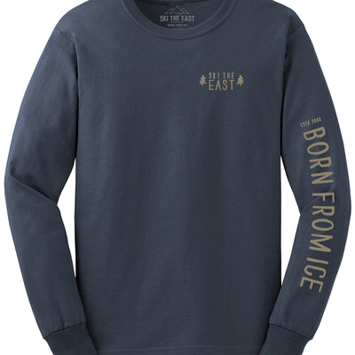 Born From Ice Longsleeve - Navy