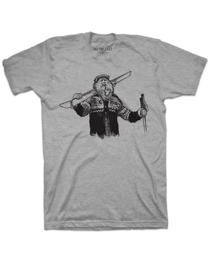 Mountain Man Tee - Gray