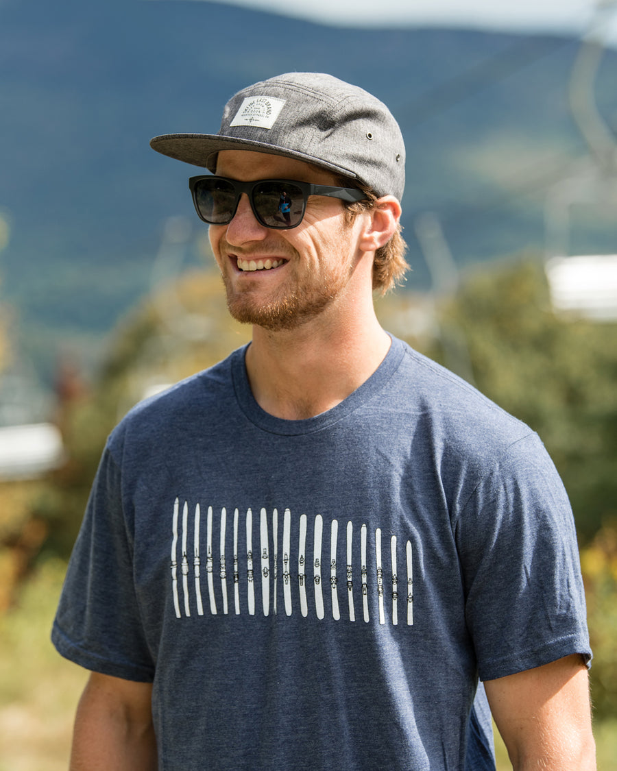 Ski Quiver Tee - Midnight Navy