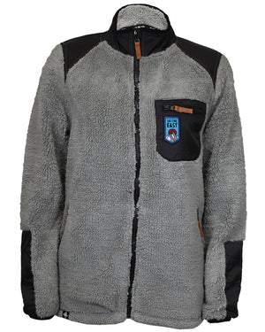 Women's Nimbus Sherpa Fleece Jacket - Charcoal