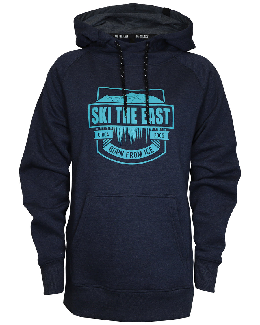 Women s Born From Ice Pullover Hoodie - Navy 69268b047