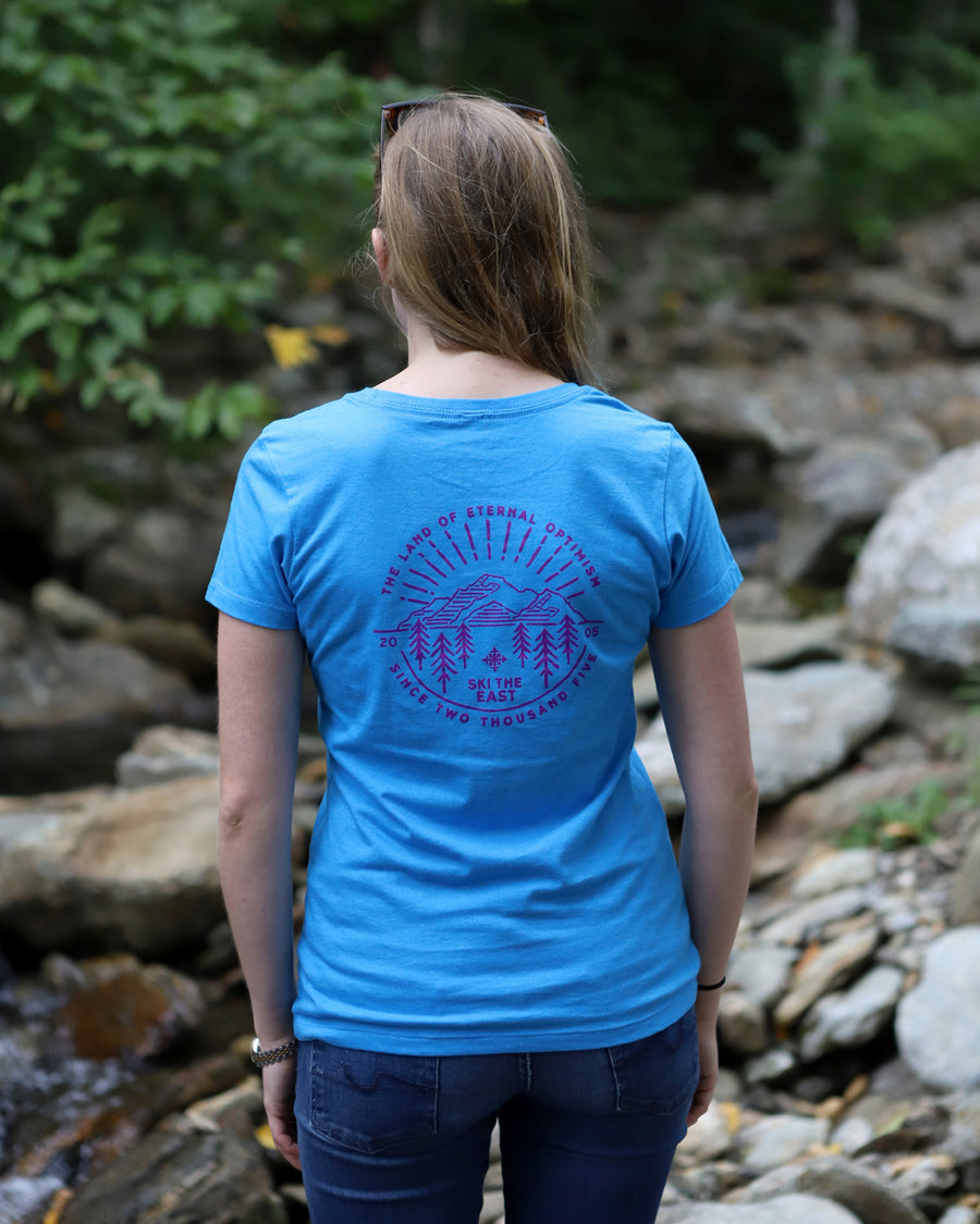 Women's Eternal Tee - Ice Blue