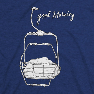 Women's Good Morning Tee - Midnight Navy