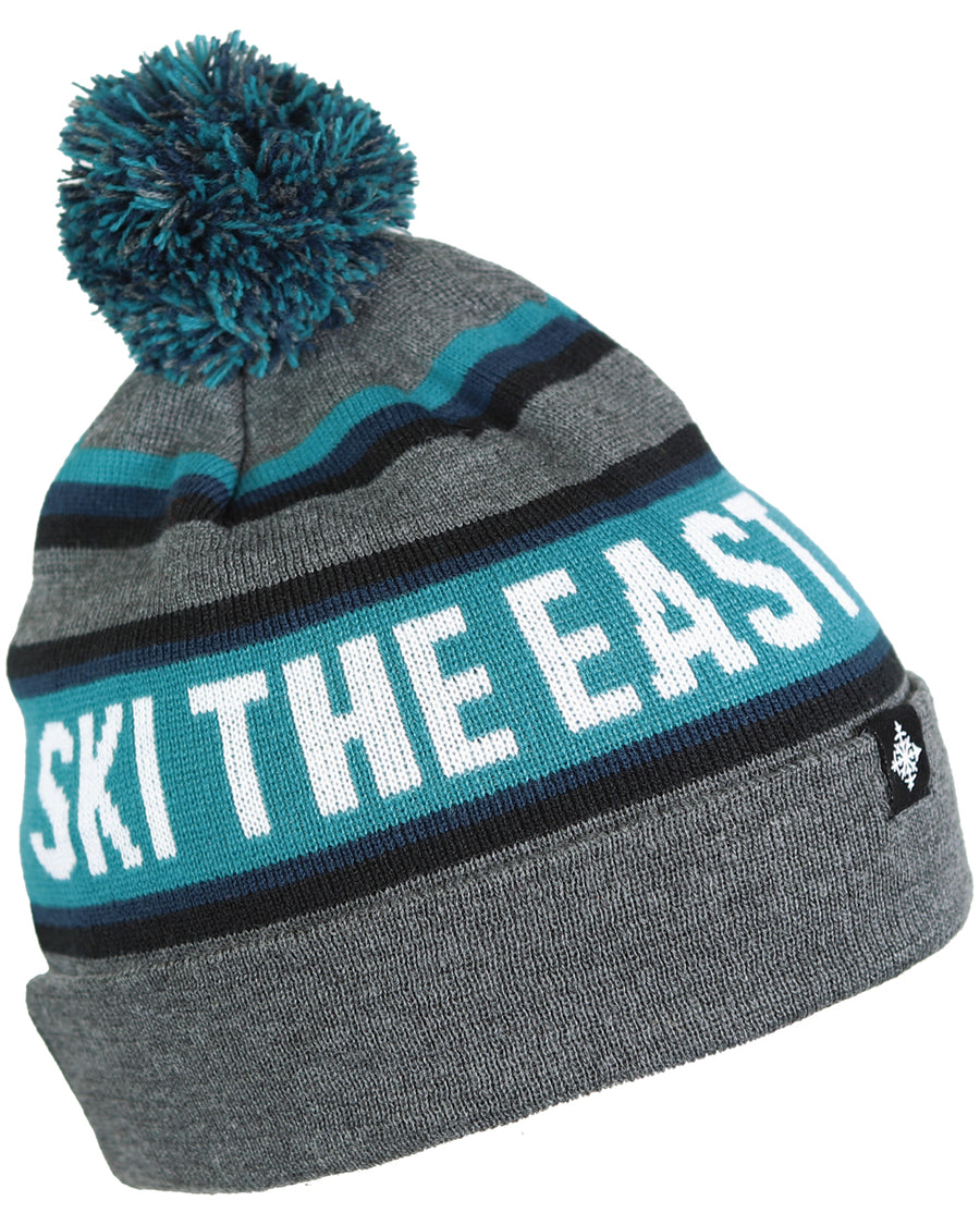 Tailgater Pom Beanie - Charcoal