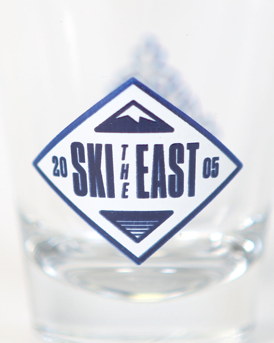 Moguls Shot Glass