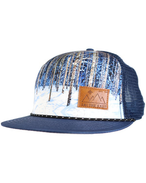 Birches Foam Trucker - Navy