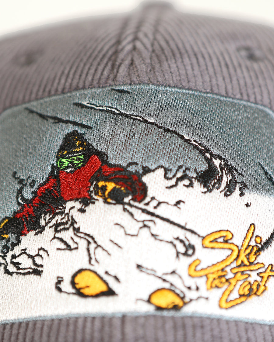 Steep n' Deep Corduroy Hat - Granite