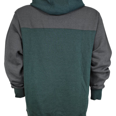 Crawford Pullover Hoodie - Charcoal/Forest