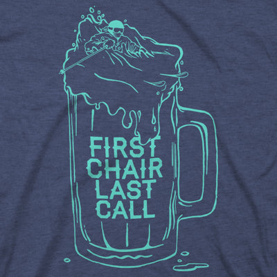 First Chair Last Call Tee - Navy
