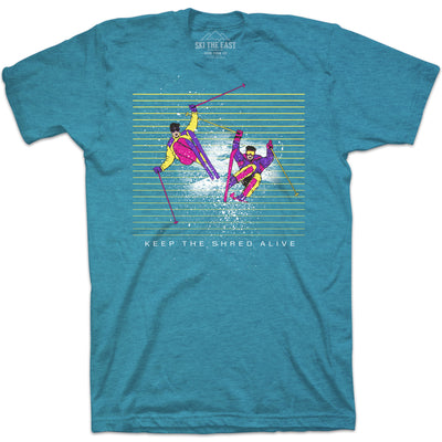 League of Extreme Gentlemen Tee - Ice Blue