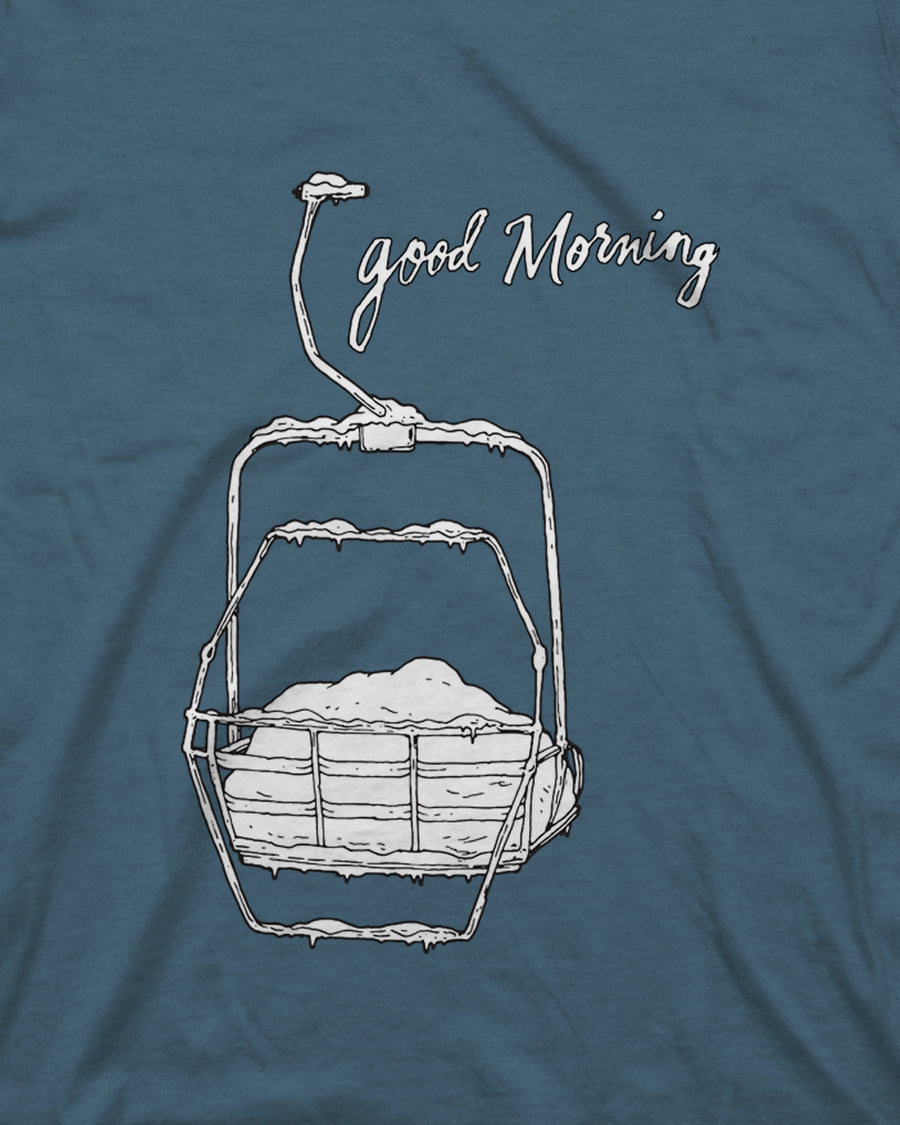 Good Morning Tee - Indigo