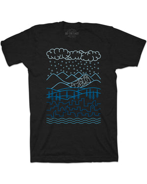 Homeward Tee - Vintage Black