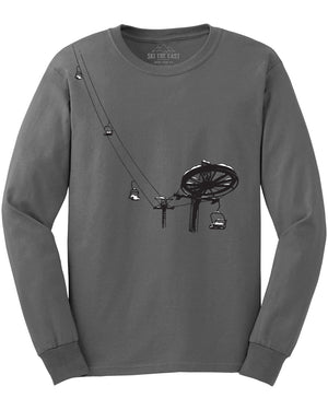 Double Chair Longsleeve - Gray