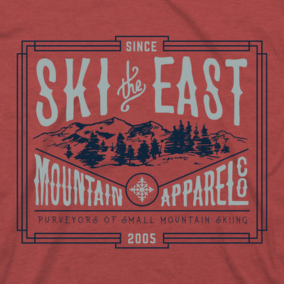 Small Mountain Tee - Cardinal