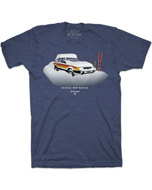 Wicked Nor'Eastah Tee - Navy