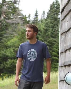 Woods Are Goods Tee - Navy