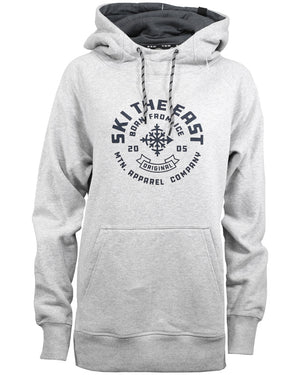Women's Icon Pullover Hoodie - Gray
