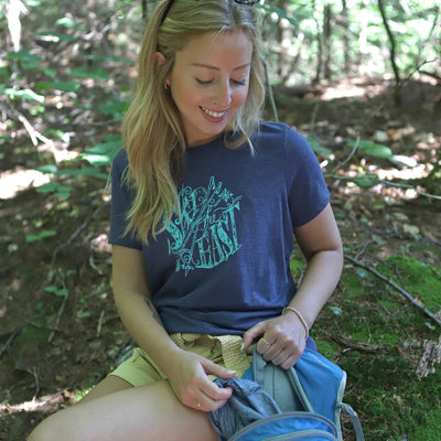 Women's Rangeley Tee - Navy