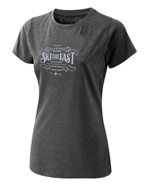 Women's Get Barreled Tee - Charcoal