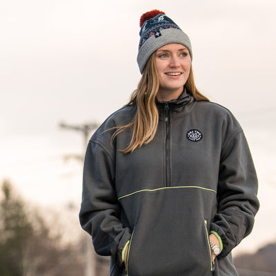 Women's Franconia Fleece Pullover - Gray