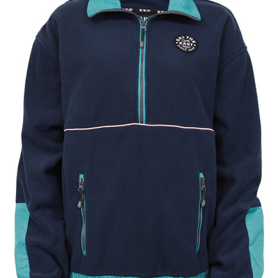 Women's Franconia Fleece Pullover - Navy